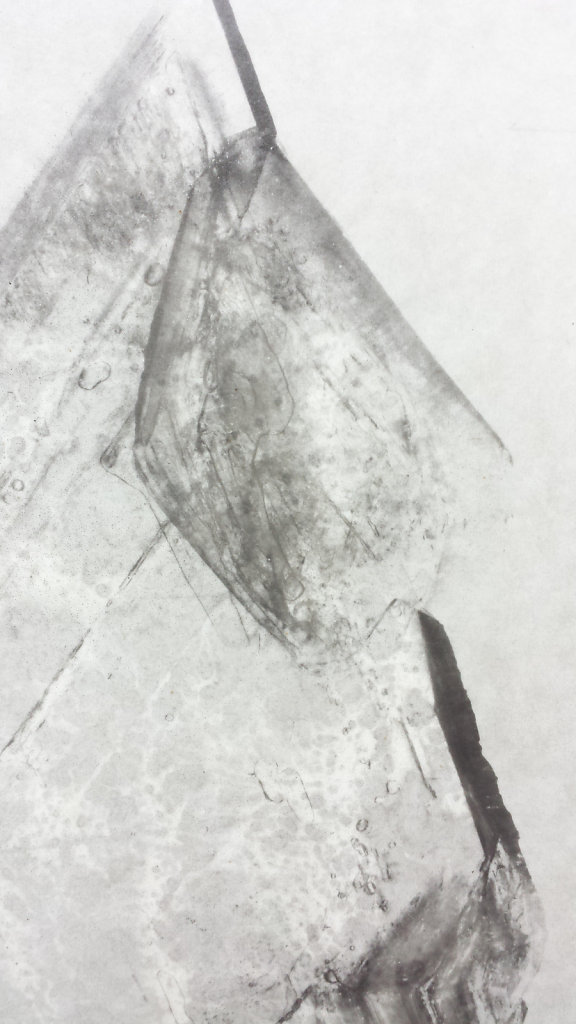 Crystal I (detail), 2014.