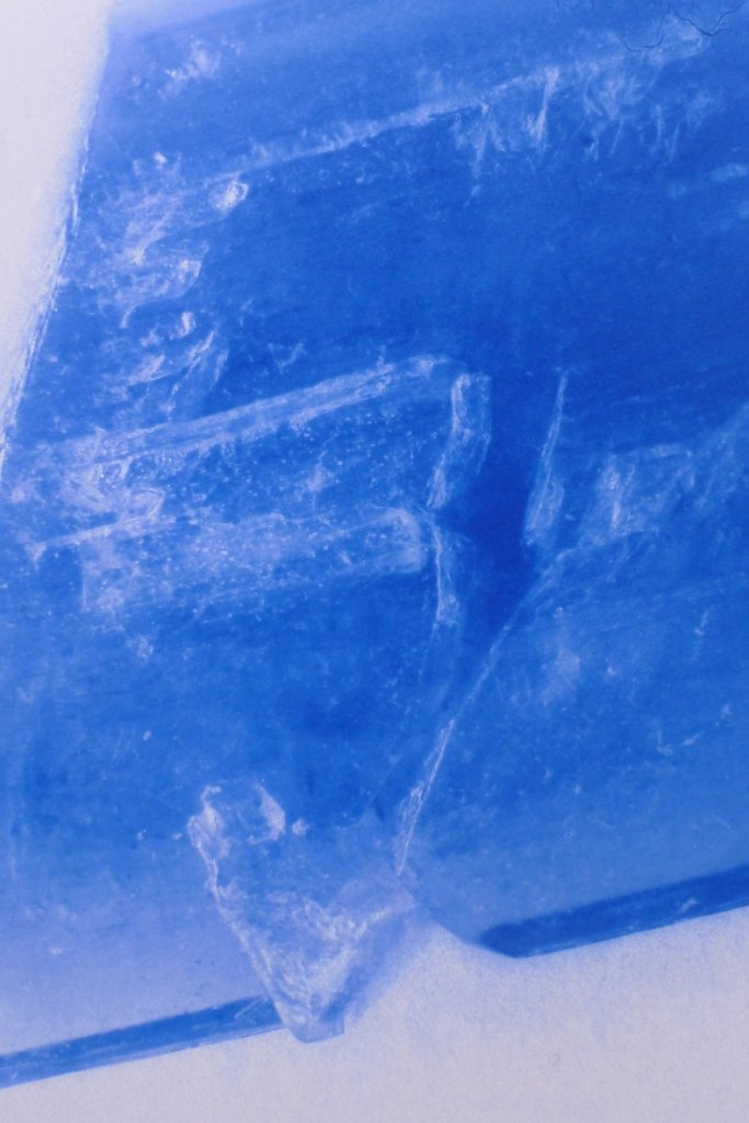Copper Sulfate I-b recto (detail), 2015