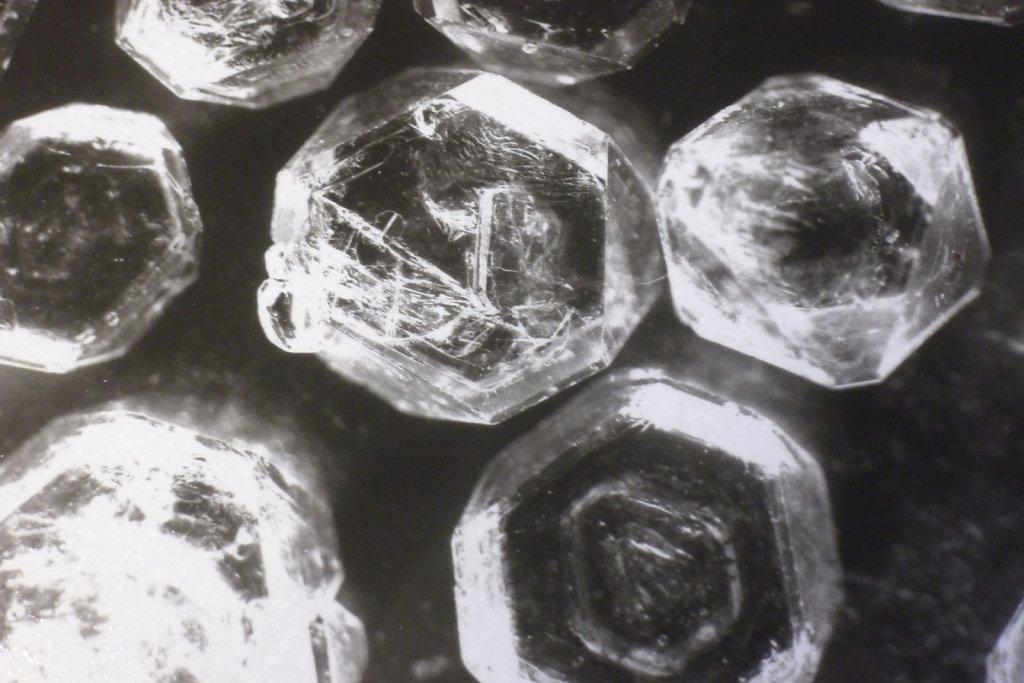Potassium Aluminum Sulfate I (detail), 2015.