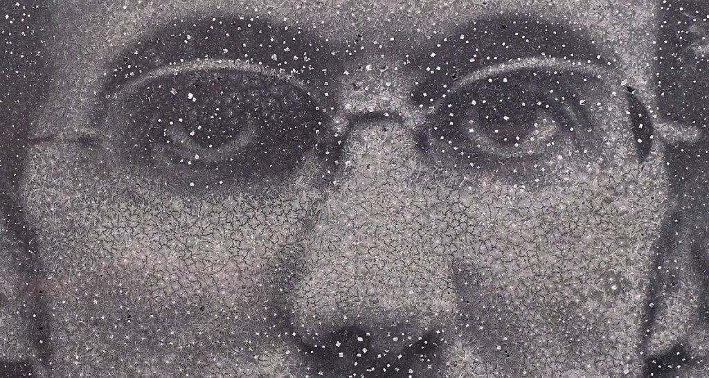Self portrait (detail), 2015
