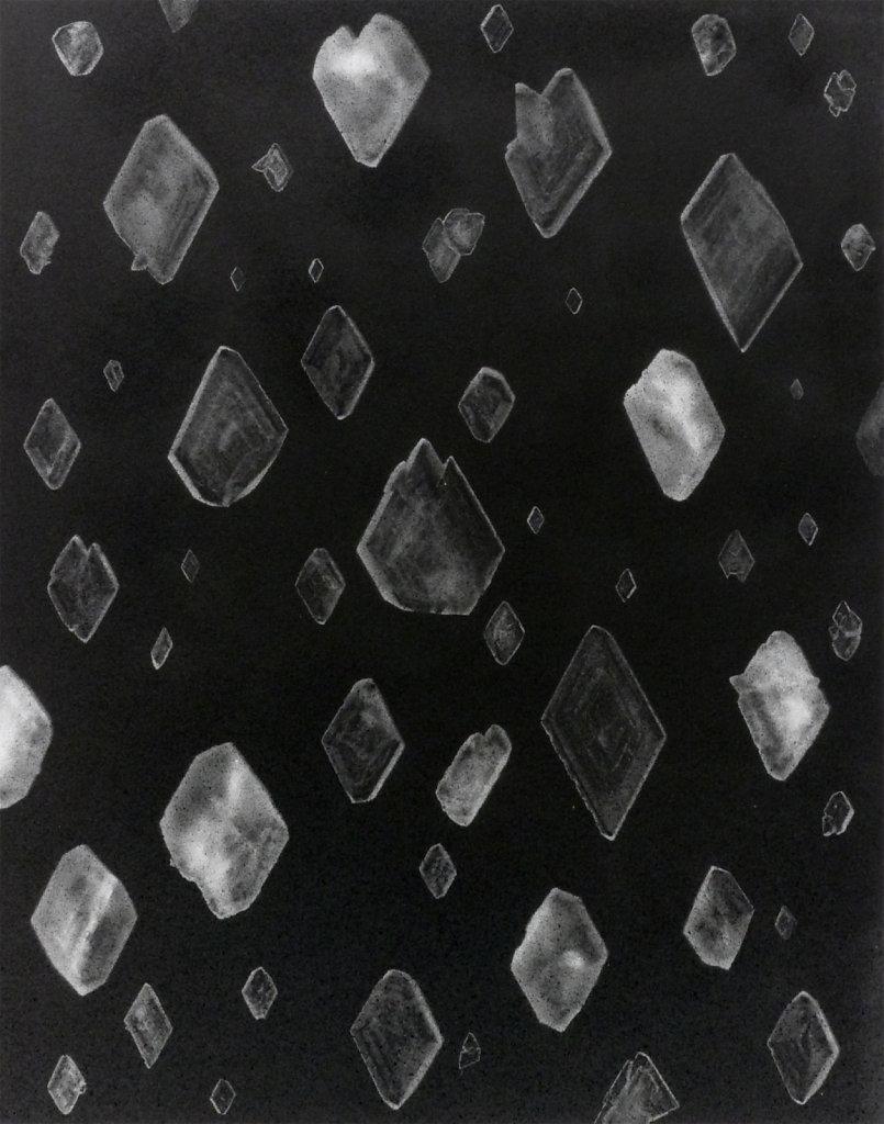 Crystal photogram, 2016.